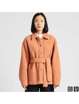 Women Uniqlo U Fleece Lined Short Coat (21) by Uniqlo