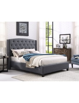 Gray Croce Upholstered Standard Bed by Darby Home Co