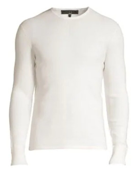 Davis Extrra Fine Merino Wool & Linen Blend Sweater by Rag & Bone