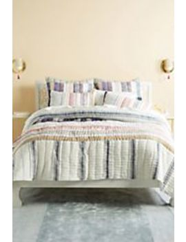 Set Of 2 Woven Starling Pillowcase by Anthropologie