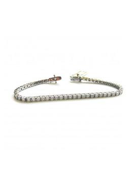 1ct Diamond & White Gold Bracelet by Buy Fine Diamonds