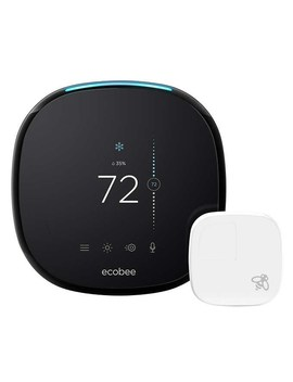 Ecobee 4 Smart Thermostat With Room Sensor by Ecobee