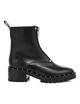 Hayett Jewelled Leather Combat Boots by 3.1 Phillip Lim