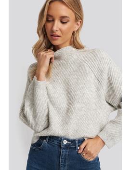 Comfort Sweater Grå by Mango