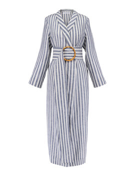 Striped Linen Robe by Sleeper