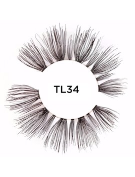 Human Hair Lashes Tl34 by Tatti Lashes