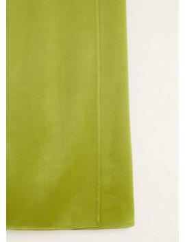 Spódnica Midi Z Miękkiej Tkaniny by Mango