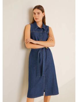 Платье рубашка из лиоцелла by Mango
