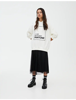 Sweatshirt Pantone Com Marshmallow by Pull & Bear
