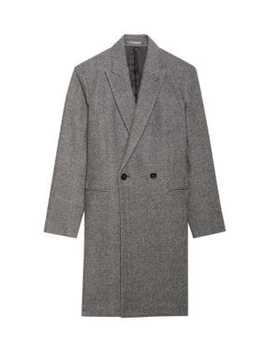 Manroe Double Breasted Coat by Theory