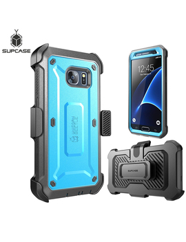 For Samsung Galaxy S7 Case Supcase Ub Pro Series Full Body Rugged Holster Protective Cover Case With Built In Screen Protector by Ali Express.Com