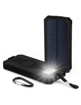 300000m Ah Portable Solar Power Bank Dual Usb External Battery Charger Good Quality Power Bank For Phone Portable Charger by Ali Express.Com