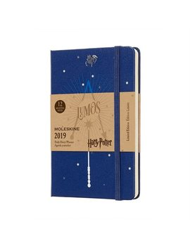 12 M Limited Edition Harry Potter Weekly Notebook Pocket Blue by Moleskine