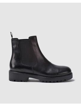 Botines Vagabond Shoemakers De Piel Vacuna En Color Negro by Vagabond Shoemakers