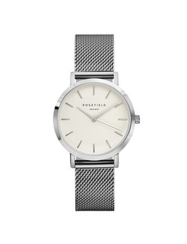 Rosefield Tribeca Watch   Silver by Rosefield
