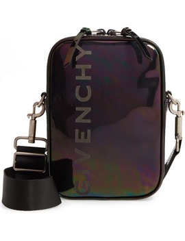 Iridescent Leather Crossbody Bag by Givenchy