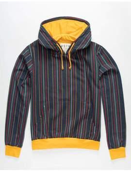 Vstr Multi Stripe Mens Hoodie by Vstr