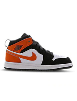 Jordan 1 Mid   Pre School Shoes by Jordan