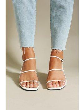 Street Designer Heels // White by Vergegirl