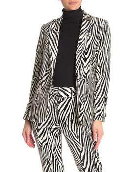 Zebra Blazer by Frame Denim