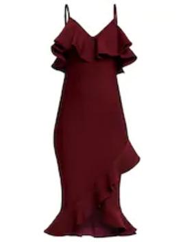 Cocktailklänning   Vinröd by Forever Unique