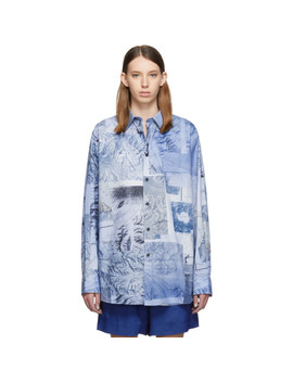 Chemise Bleue Salem Face by Acne Studios