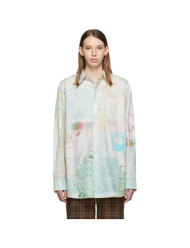 Chemise Verte Salem Face by Acne Studios