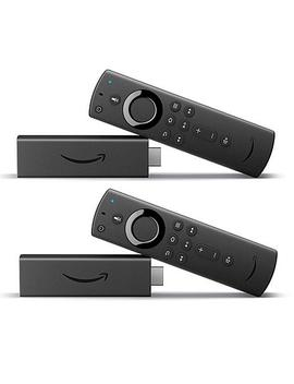 """<Span Class=""""Callout Exclusive"""">Exclusive!</Span>                  Amazon Fire Tv Stick 4 K With Alexa Voice Remote And Voucher by Amazon"""