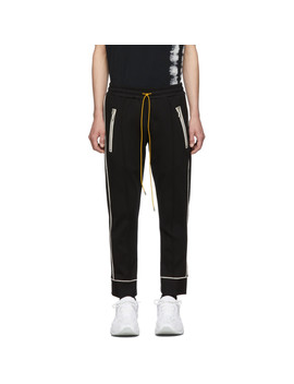 Black & White Smoking Traxedo Trousers by Rhude