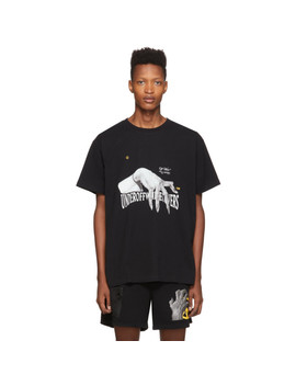 T Shirt Noir Hand Dart édition Undercover by Off White
