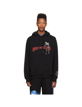Pull à Capuche Noir Skeleton Rvrs Arrows édition Undercover by Off White
