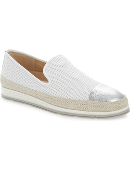 Qalila Perforated Cap Toe Loafer by Vaneli