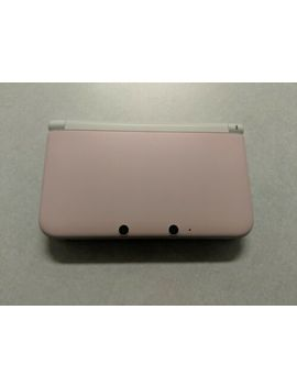 Nintendo 3 Ds Xl Launch Edition White & Pink Handheld System by Nintendo