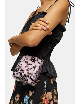 Stark Nude Acrylic Cross Body Bag by Topshop