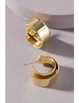 Soko Ribbon Mini Hoop Earrings by Soko