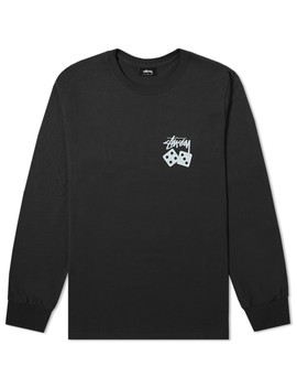 Stussy Long Sleeve Dice Pigment Dyed Tee by End.