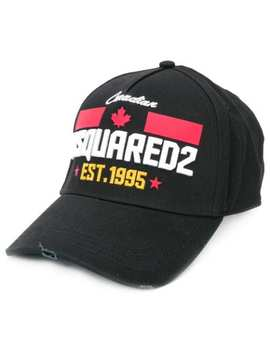Embroidered Baseball Cap by Dsquared2