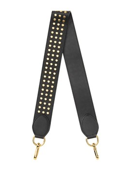 Studded Leather Shoulder Strap by Burberry