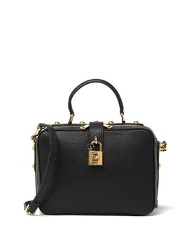 Rosario Leather Tote by Dolce & Gabbana