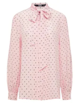 Bow Blouse   Bluser by Karl Lagerfeld