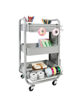 Gray Gramercy Cart By Recollections™ by Recollections