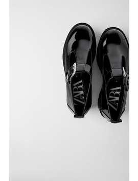 Flat Platform Shoes by Zara