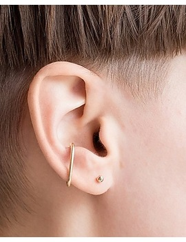One Six Five Gold Thea Ear Cuff by Express