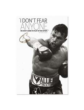 Saul Canelo Alvarez Quote Photo Print Poster   Pre Signed   Exceptional Quality by Etsy