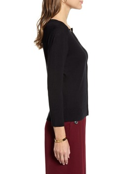 Crewneck Cardigan by Halogen®