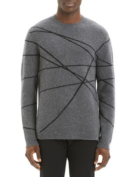 Aris Wizard Regular Fit Crewneck Sweater by Theory