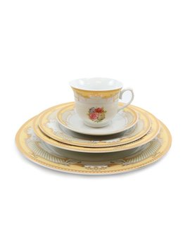 Schaper 49 Piece Dinnerware Set, Service For 8 by August Grove