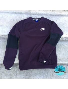 Nike Sportswear Maroon / Black Multi Coloured by Depop