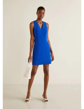 Εφαρμοστό φόρεμα by Mango