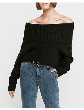 Convertible Collar Pullover Sweater by Express